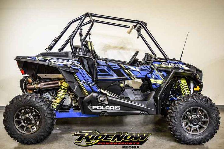 New 2017 Polaris RZR XP 1000 EPS Velocity Blue ATVs For Sale in Arizona. 2017 Polaris RZR XP 1000 EPS Velocity Blue,