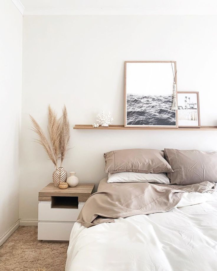 Fy On Instagram Create An Inspirational Space Adding Some Coastal Elements To Your Bedroom Schlafzimmer Inspiration Haus Deko Schlafzimmer Deko