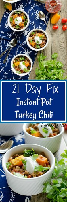 21 Day Fix Instant Pot Chili