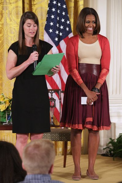 Michelle Obama - Take Your Children to Work Day at the White House