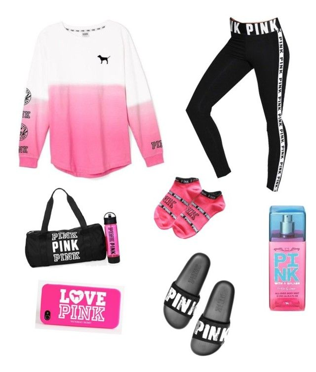 """""""Victoria's Secret PINK"""" by hbpags on Polyvore featuring Victoria's Secret and Victoria's Secret PINK"""