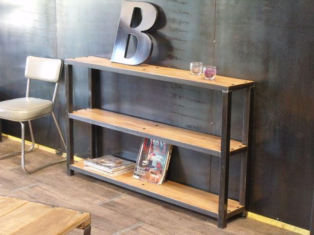 Les 10 meilleures images du tableau Nos meubles d appoint industriel ...