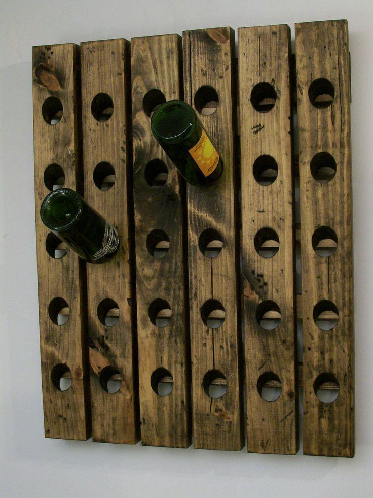 25 Best Wall Hanging Wine Rack Ideas On Pinterest Wall