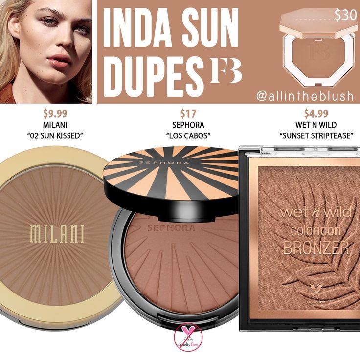 Fenty Beauty Inda Sun Sun Stalk'r Instant Warmth Bronzer Dupes