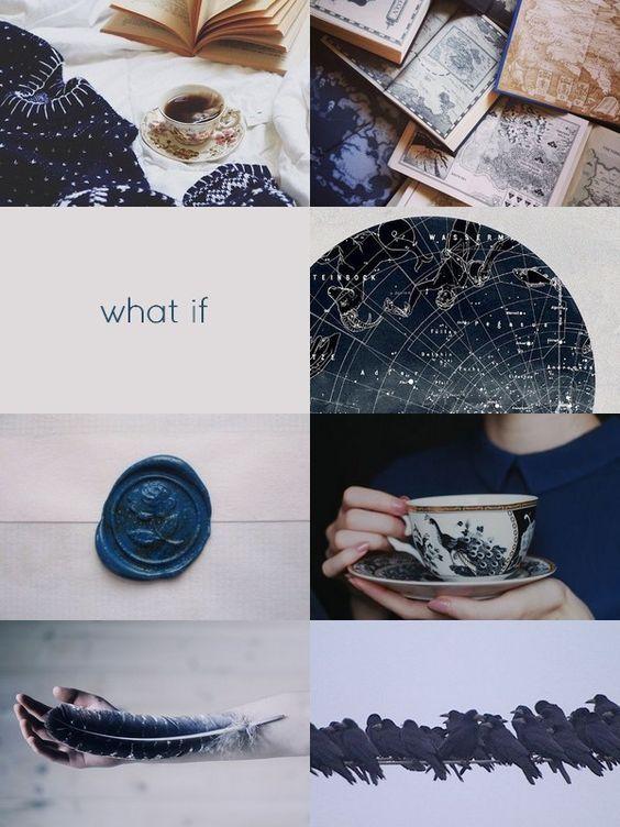 Ravenclaw aesthetic - moodboard