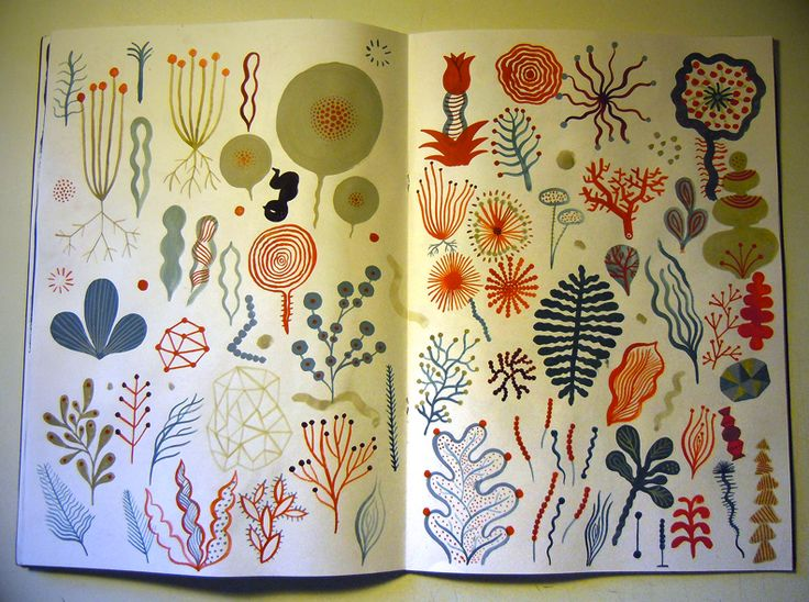 Laurent Moreau's sketchbook