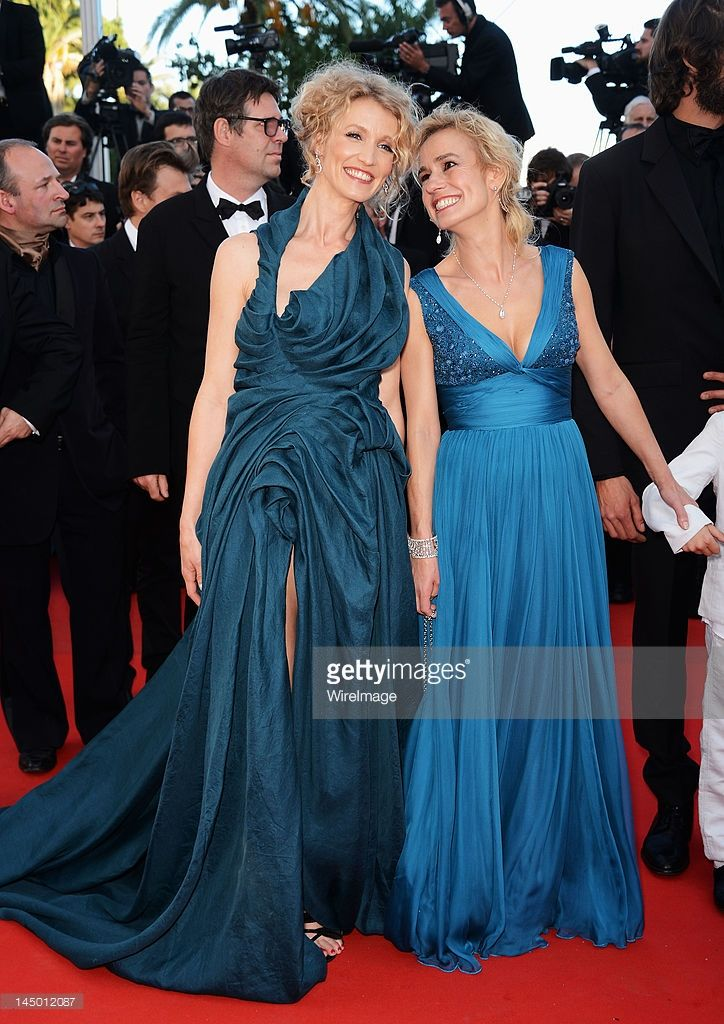 Alexandra Lamy and Sandrine Bonnaire attend the 'Killing Them Softly' Premiere during the 65th Annual Cannes Film Festival at Palais des Festivals on May 22, 2012 in Cannes, France.