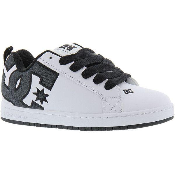DC Court Graffik SE Men's White Skate ($65) ❤ liked on Polyvore featuring men's fashion, men's shoes, men's sneakers, white, mens shoes, mens suede sneakers, mens sneakers, mens skate shoes and mens white shoes