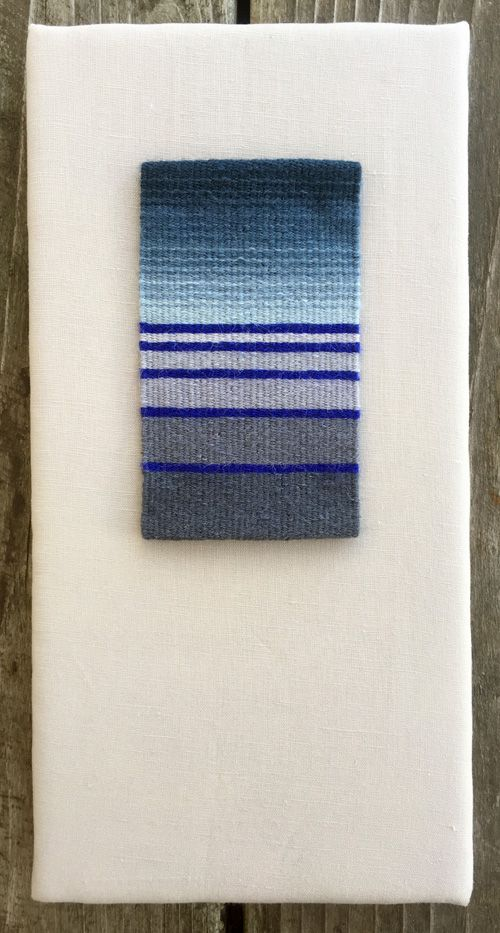 Weaving project from Rebecca Mezoff's Weaving Tapestry on Little Looms online course. tapestry weaving | tapestry class | how to weave tapestry | little looms