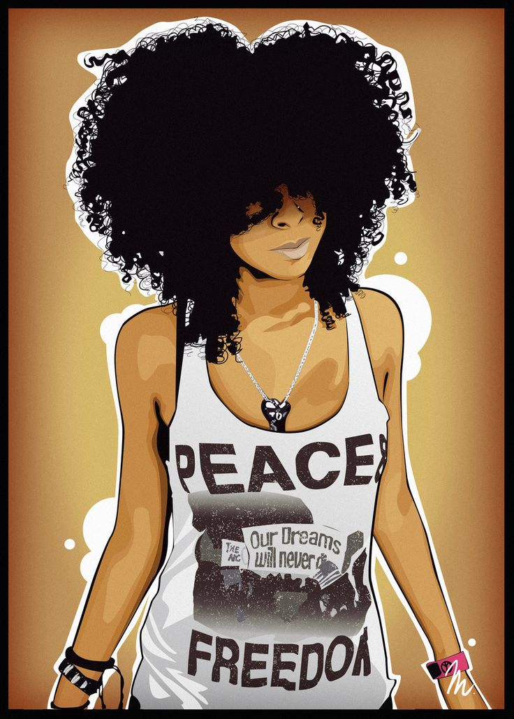 Afro by matystaw