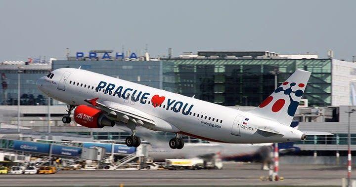 Tempo de avião voo até Praga   República Checa #Praga #República_Checa #europa #viagem