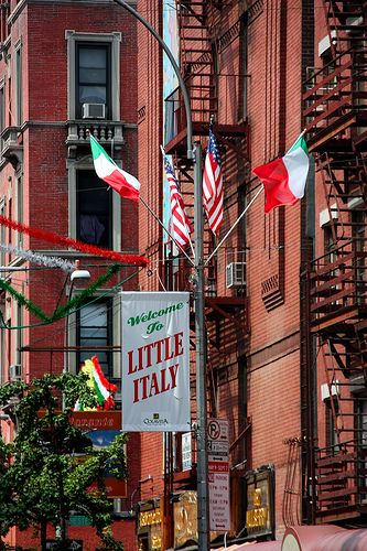 """Little Italy NYC - what was the name of that restaurant with the hot waiter? """"Can I have you for dessert?"""""""