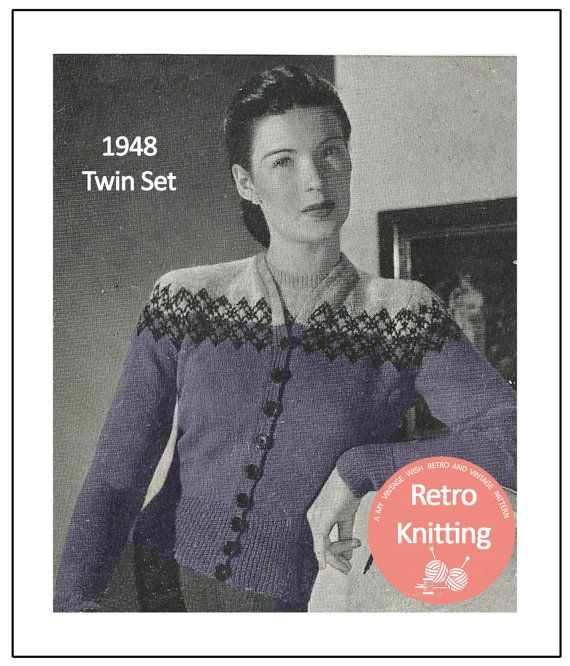 122 best Vintage Knits images on Pinterest | Book, Conditioner and ...