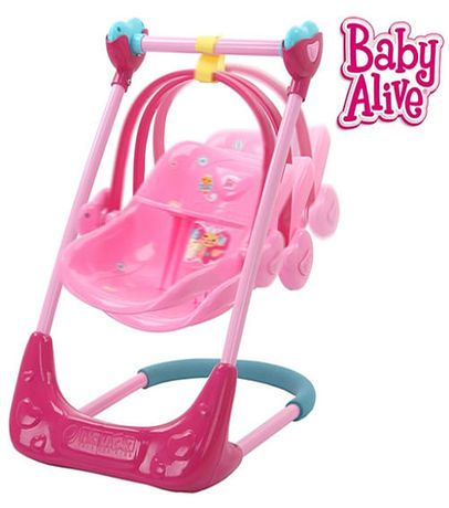 Baby Alive Swing & High Chair Combo