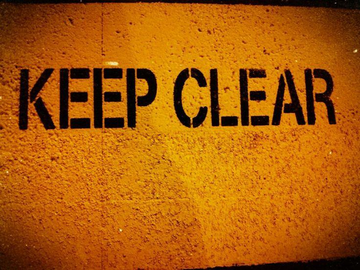 Keep calm and clear brain