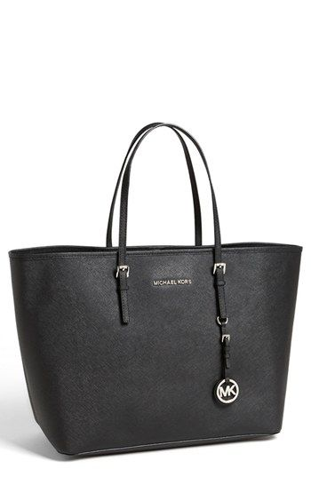 I love this bag! I didn\u0027t think the straps could hold a laptop, but this is  the perfect laptop bag! MICHAEL Michael Kors \u0027Jet Set - Medium\u0027 Travel Tote  ...