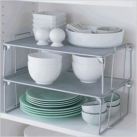 Mesh pantry organizer