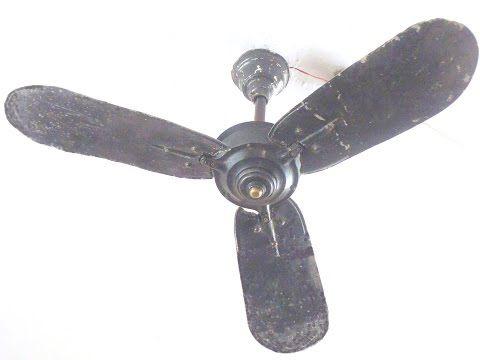 Ceiling Fan Falling Down Part 7 Domestic Ceiling Fan Usha Fontana Lotus Hd1080p Youtube Vintage Ceiling Fans Ceiling Fan Ceiling Fan Makeover