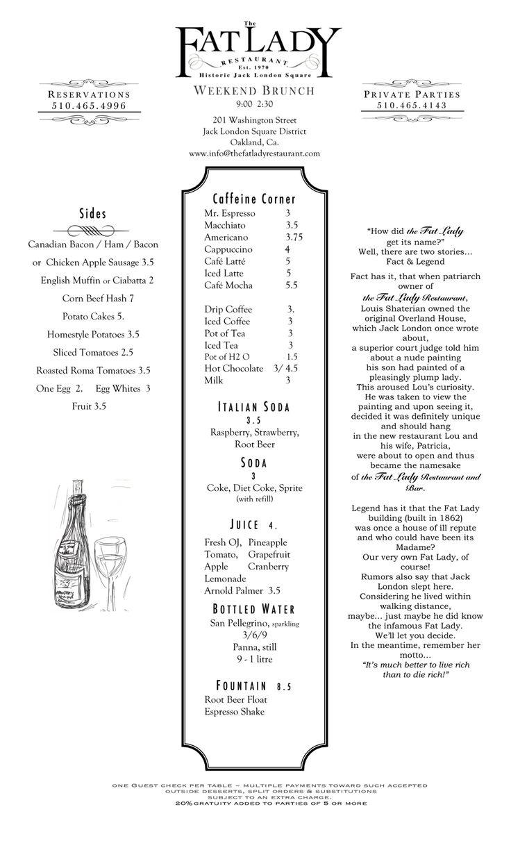 25 best Restaurant Menus images on Pinterest   Diners, Restaurant ...