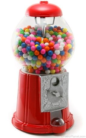 Antique Style Gumball Machine. Gram and Pop had one and it taught us the value of earning money and deciding how to spend it for things like treats and candy.