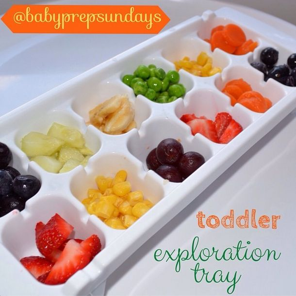 18 best babys first finger foods images on pinterest baby foods toddler exploration tray for when baby is ready to try finger foods babyprepsundays forumfinder Gallery