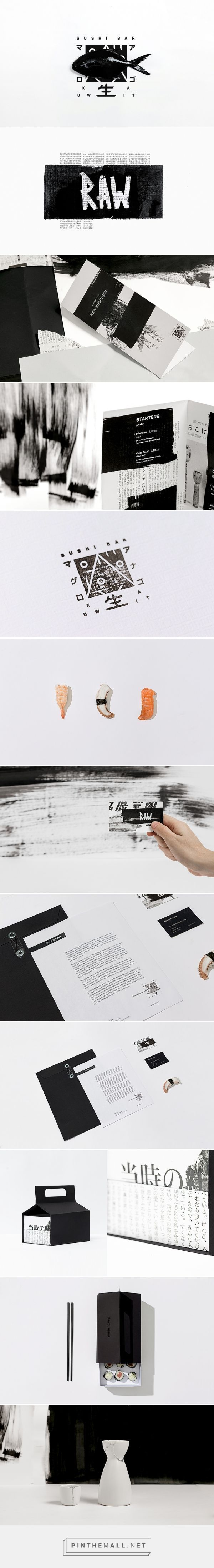 Food infographic  Food infographic  Raw Sushi Bar Restaurant Branding by Futura | Fivestar Brandin