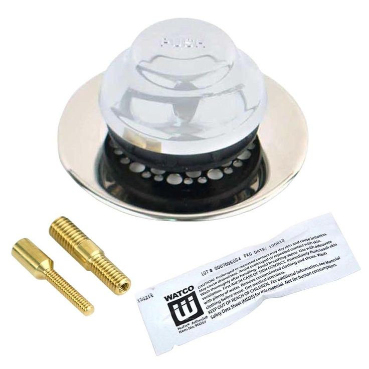 Watco Universal Nufit Foot Actuated Bathtub Stopper With