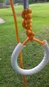 How to make your own gymnastic rings. DIY, gymnast rings, workout. https://wonderfulworldofwhite.wordpress.com/workouts/