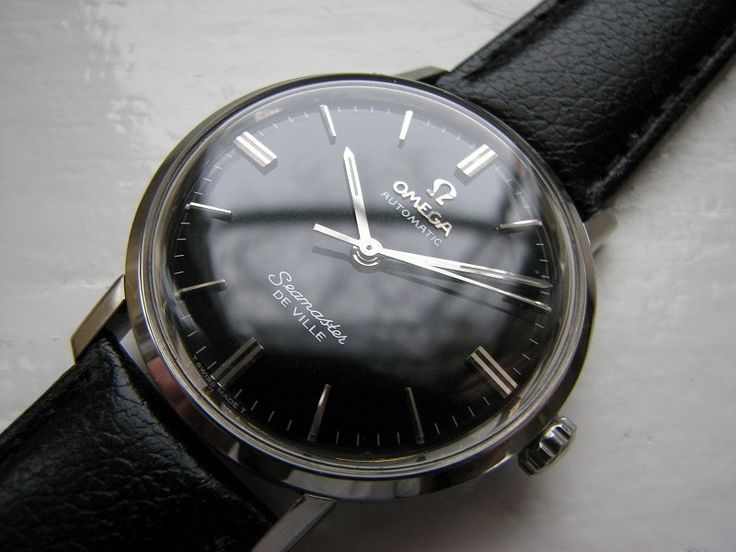Best Automatic Watches >> Omega Seamaster Deville 552 cal (1960-ish) | Clockwork ...