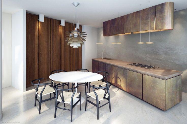 Vincenzo de cotiis  kitchens  Pinterest  Metals, Kitchens and Woods