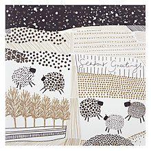Buy Woodmansterne Sheep In Snowy Field Christmas Card Online at johnlewis.com