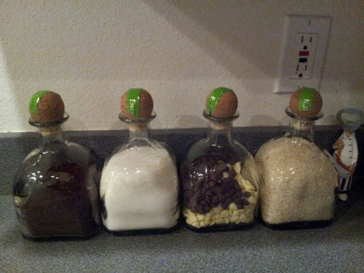 Patron bottles up cycled as canisters
