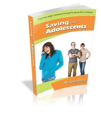Saving our adolescents : supporting today's adolescents through the bumpy ride to adulthood / Maggie Dent. Find this book in NSW public libraries: http://trove.nla.gov.au/version/47004883