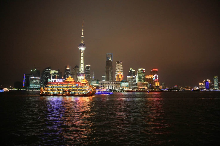 Rio Huangpu - Shanghai (China)