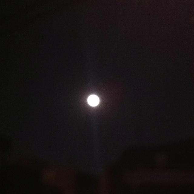 Full Moon in Seoul.