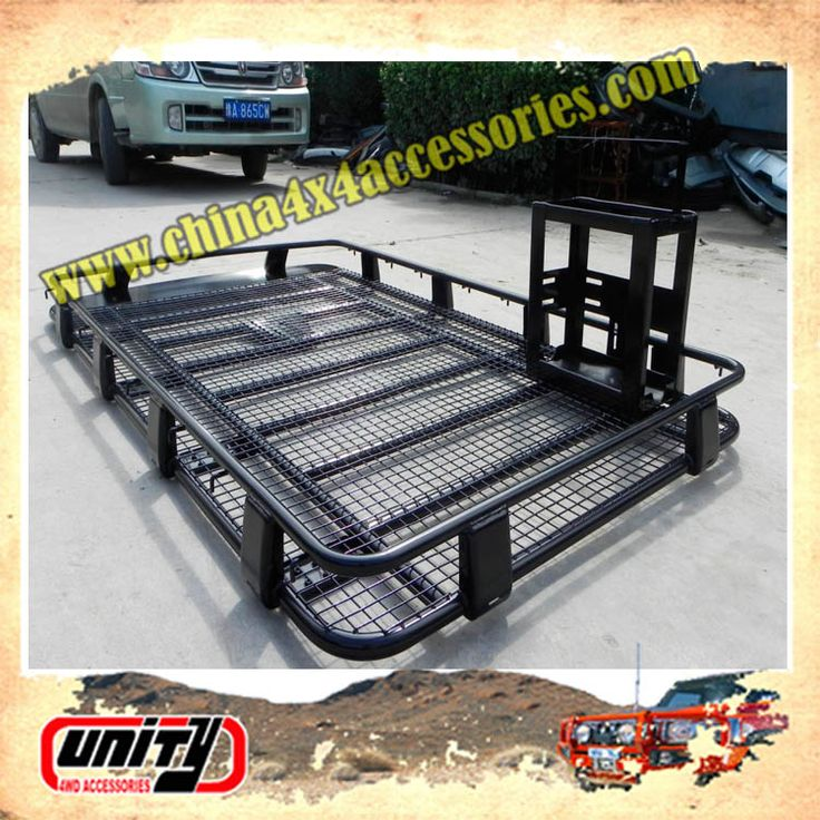 new pick up truck accessory car roof rack with jerry can mount land cruiser roof rack
