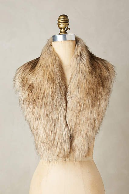 Ingara faux fur stole anthroregistry threads rags pinterest faux - Polsterstoffe fur stuhle ...