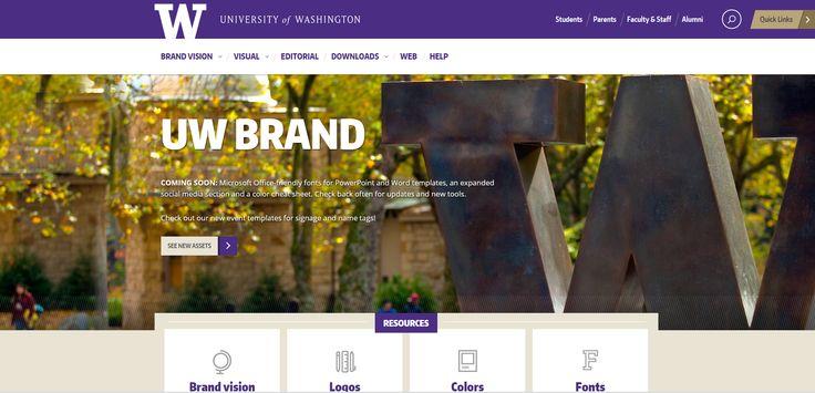 Public Sector Branding - University of Washington