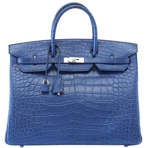 444e6a2a013 ... germany hermes birkin 40 bag bleu de malte chic blue liked on polyvore  9305b be2db