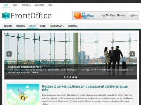 FrontOffice WordPress theme