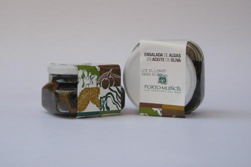 Insalata di alghe in olio di oliva