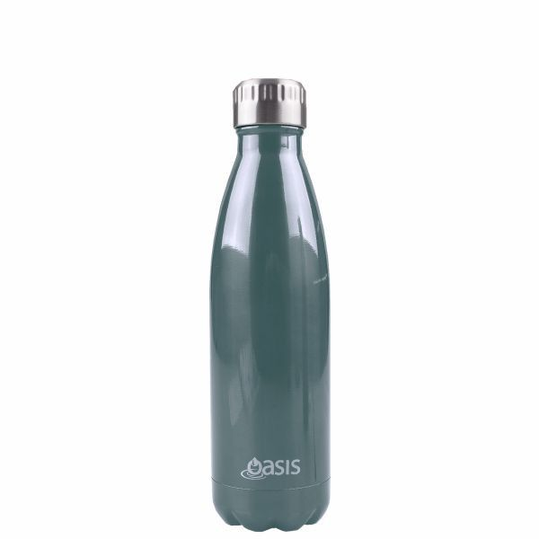 Oasis | Stainless Insulated Drink Bottle 500ml - Navy #botanex #botanexstore #qualityproducts #waronwaste #outdoors #coffee #camping #glamping #outdoorcooking #consciousshopping #ecoliving #protectourplanet #zerowaste #sustainableliving #coffeecup