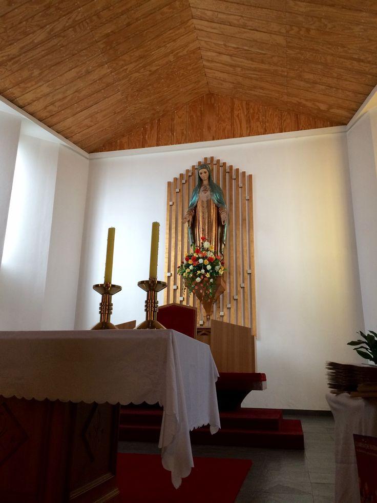Virgen sagrado corazón #Temuco  #Chile
