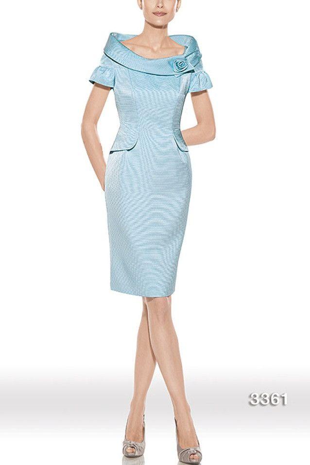 Vestido de madrina modelo 3361 by Teresa Ripoll   Boutique Clara. Tu tienda de vestidos de fiesta.