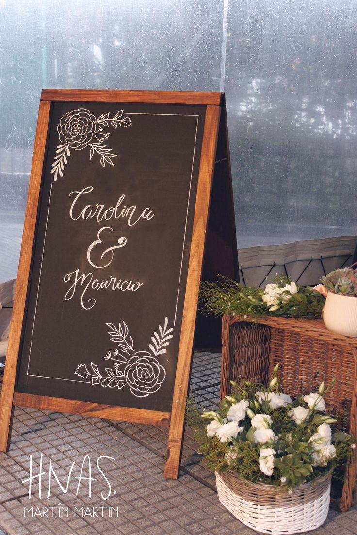 casamiento, boda, ambientación, pizarra, canasta de flores wedding, decor, blackboard, flower basket