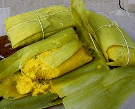 Humitas! like mexican tamales but completely made out of corn, no dough