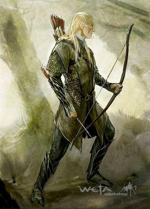 Elven Archer Costume