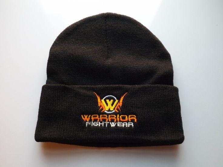 WarriorFightwear  beanie hat in black