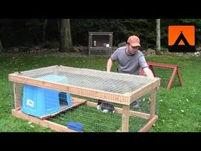 How to build a simple rabbit hutch - All                                                                                                                                                                                 More