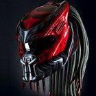 New Predator 2, Motorcycle Helmet (Handmade)